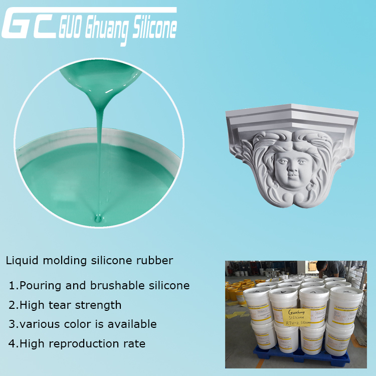 RTV Molding silicone rubber for plaster statues