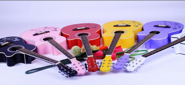 Russian guitars good sale online in China