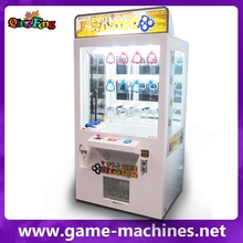 Qingfeng 10-20% discount Key Master Stacker Game Machine Arcade Crane Claw mini key master