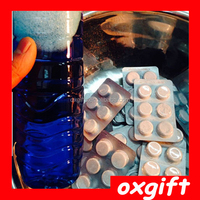 OXGIFT High concentrate windscreen,Cleaner tablet,Compact car wash