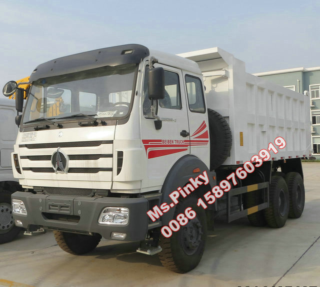 Cheaper Price Beiben Dumper 25Tons Tipper Truck Hot Sales