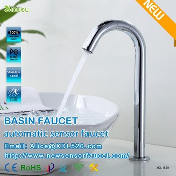 countertop basin automatic faucets