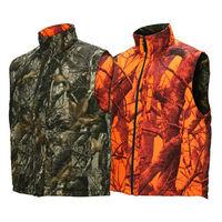 Orange Insulated Reversible Hunting Vest
