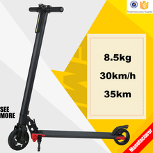 Range 30-50km Motor 250W Lightweight mobility scooters 2 wheel electric scooter