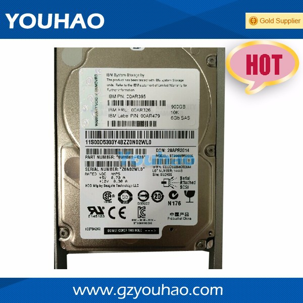 Gross Weight 1.2KG Server HDD For IBM Servers SAS 2.5inch 10K 300GB Internal Hard Drive 00Y2429