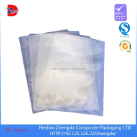 transparent retort food vacuum pouch plastic bag for food