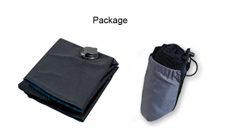 Top selling  Durable Portable  Travel  Air Outside Inflatable Pillow