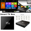 Best android tv box Quad Core KODI 16.1 X96 amlogic s905x android tv box digital satellite receiver the set-top box shenzhen