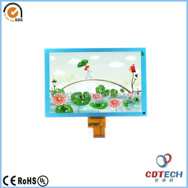 1000cd/m2 brightness 8.0 Inch Tft Lcd with viewing angle IPS monitor, RGB to MIPI
