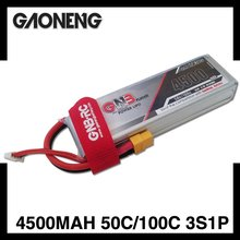 3S 4500MAH LiPo Battery 11.1V RC airplane drones quadcopter heli plane boat car FPV true c rating high discharge performance