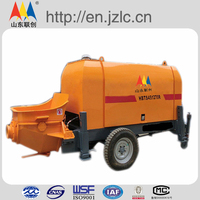 Ready trailer HBT60.13.90S concrete pump used for sale