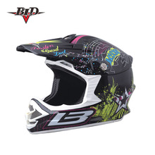Motorcycle racing dual sports dirt bike safety ABS and comfortable interior DOT certified motobike helmet