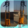 1000-2000kg Semi Electric Pallet Lifter/Hydraulic Pallet Stacker