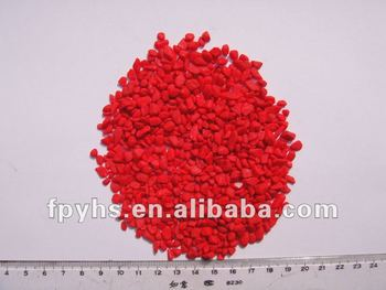 Dye colored Gravels Red