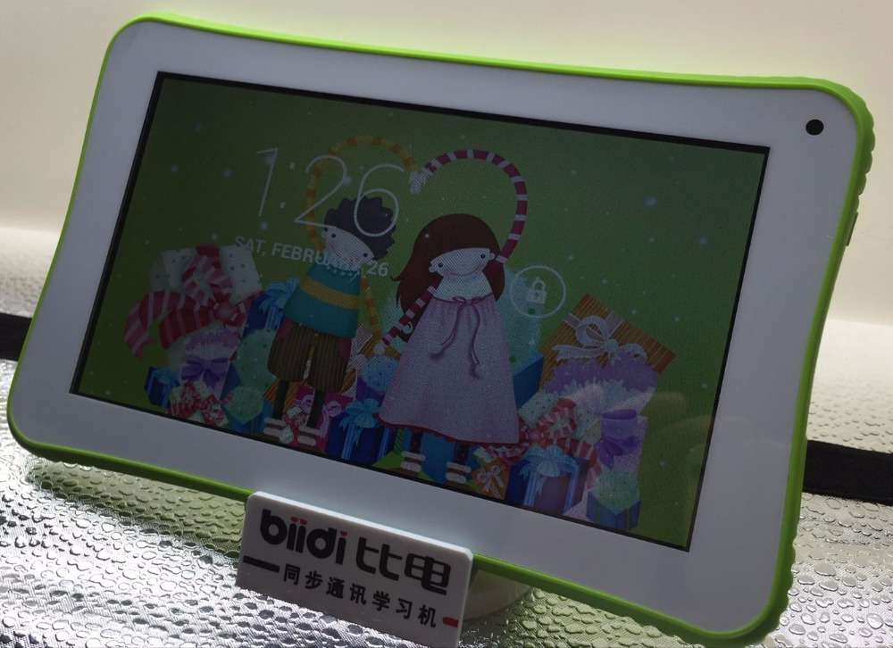 "7"" inch Quad Core Children Tablet PC Rockchip 3126 Cheap Android 5.1 eco slim Kids Tablet"
