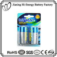 Low Price Aluminum Foil Jacket D Size R20 1.5V UM1 Dry Cell Battery