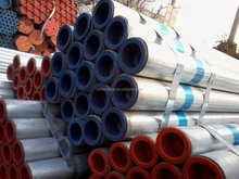 japan red galvanized steel tube supplier