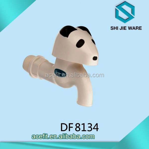 Plastic Bibcock Taps Low Price China Factory Direct Sale Industrial Water Faucets
