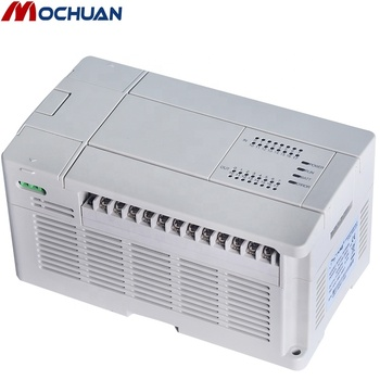 low cost small modbus rs485 used plc 24v automation controller