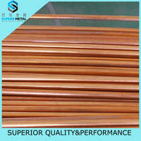 Single Wall Copper Brazed Tube Copper