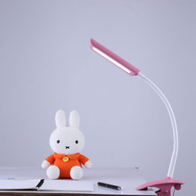 Touch Clip On Clamp On Laptop/Desk Bed Table Reading Flexible Led Portable Light Lamp Eye Protection Desk Lamp With Usb Port