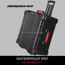 IP67 hard plastic big case plastic pull rod trolley case HTC027