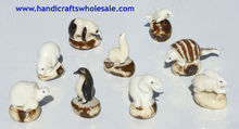 Tagua Nut Carvings Exotic Animals Collection Unique Figurines Vegetable Ivory Statues Affordable Decoration Ecuador