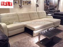 Living room sofas wholesale furniture sectional leather white color leather sofa suite