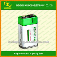 dry cell 9V Alkaline battery for multimeter