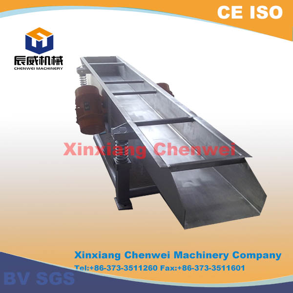 Chenwei made high efficiency good quality vibrator feeder conveyor
