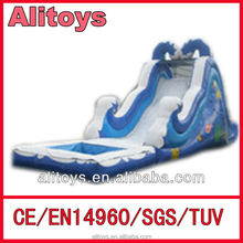 Ali outdoor cheap inflatable water slides for sale
