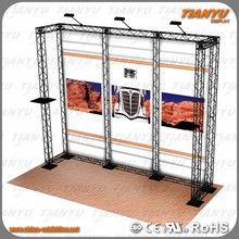 2017 export to worldwide use hot sale truss stand modular exhibition booth/Display System Pipe And Drape Stand