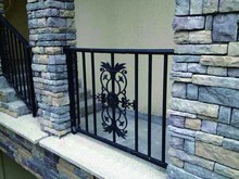 Galvanized Aluminum Colorful Balcony Porch and Walkway Railing