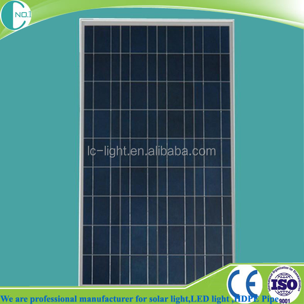 high efficiency and long lifespan 12v 100w solar panel