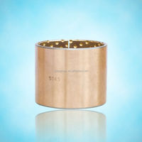 self lubricating bronze,jf brass alloy bimetal bush,metal sleeve bushing