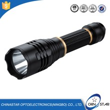 Professional Designed high light range vibrator flashlight