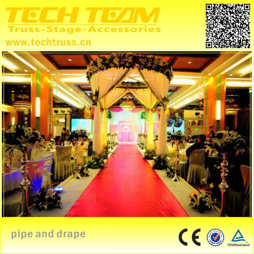 Hot Sell Portable Pipe And Drape , cheap pipe drape