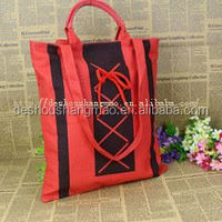 ECO-firendly shopping folding wholesale cotton nylon bag