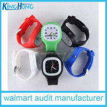 university event gift silicone jelly watch stock watch