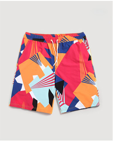 OEM customize wholesale 100%polyester couple wear hawaiian dri fit printing mens boards surf shorts