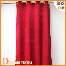 2017 Polyster sheer fabrics for crochet window curtains in luxury