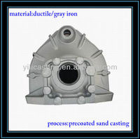 ductile iron casting 400-18/450-12/500-7/600-3 material green sand casting products cast iron foundry