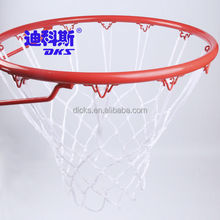 12 Hooks White PP Basketball Nets
