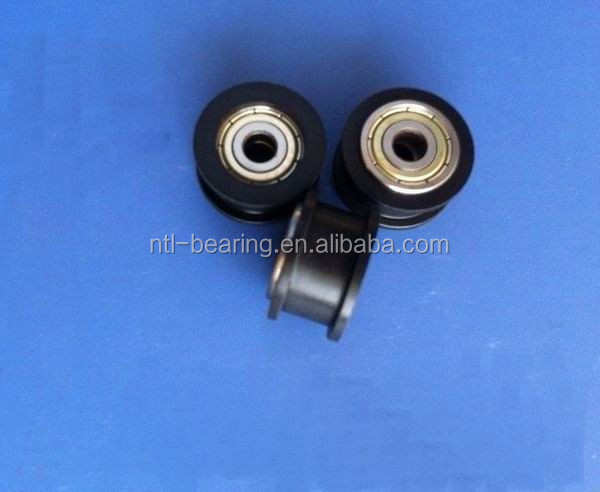 Carbon steel bearing with plasted cage pulley 604ZZ 605ZZ 606ZZ 608ZZ 625ZZ 626ZZ 695ZZ 696ZZ