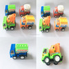 Assorted cheaper small plastic pull back truck toy