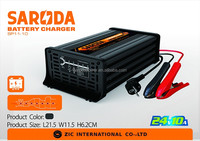 SARODA High Quality 24V 7-stage Battery Charger 220V 50Hz 10A Motorcycle Car Boat Marine RV Maintainer Battery Charger