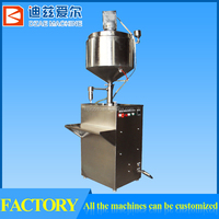 silicon gel filling and pressure cap sealing machine