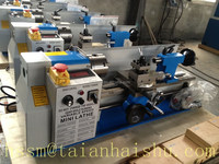 High precision CQ0618*300 Mini CNC table Lathe,Micro CNC Lathe with the factory manufacturing price