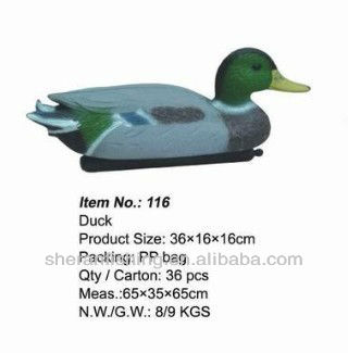 2016 new products duck Decoys hunting decoys and garden craft116