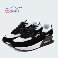 lace up thick sole air running shoes,max sport shoes for men's